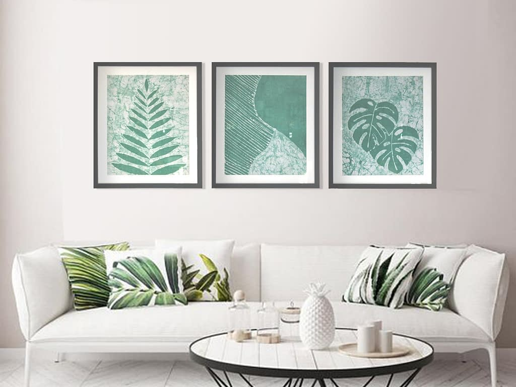 Monstera Composition Wall Tapestry
