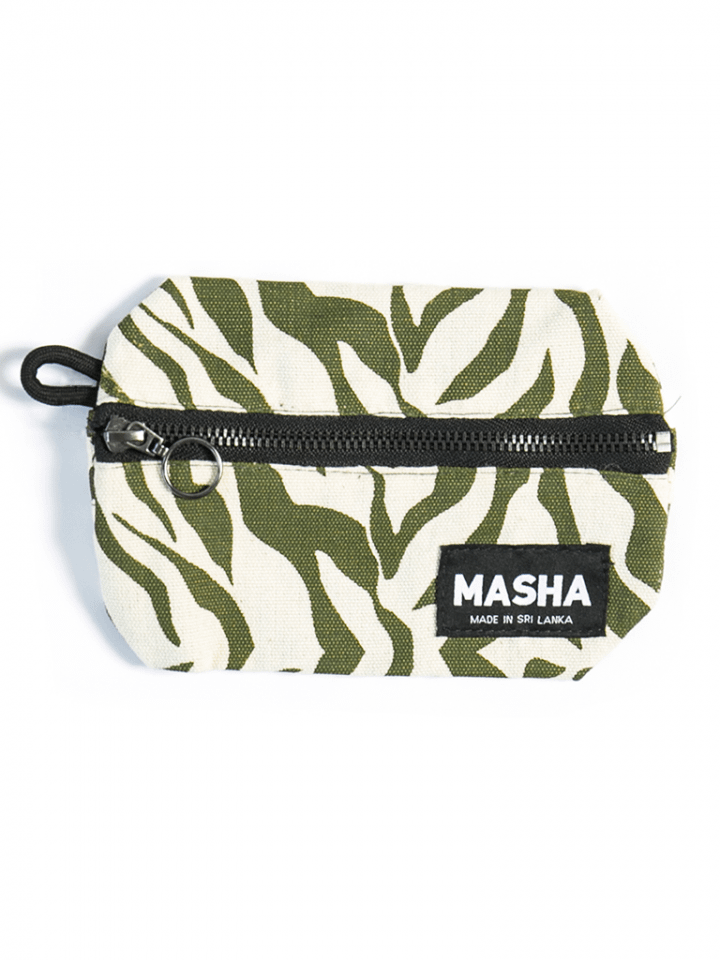 Large Rupee Coin Purse in Army Green