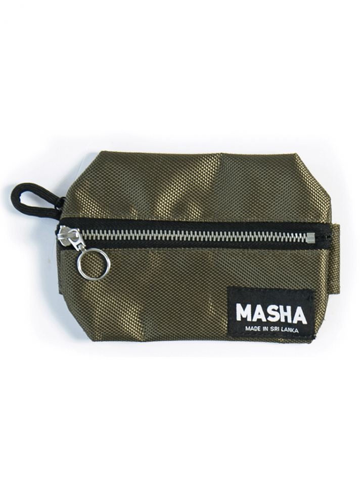 Large Rupee Coin Purse in Oxford Green