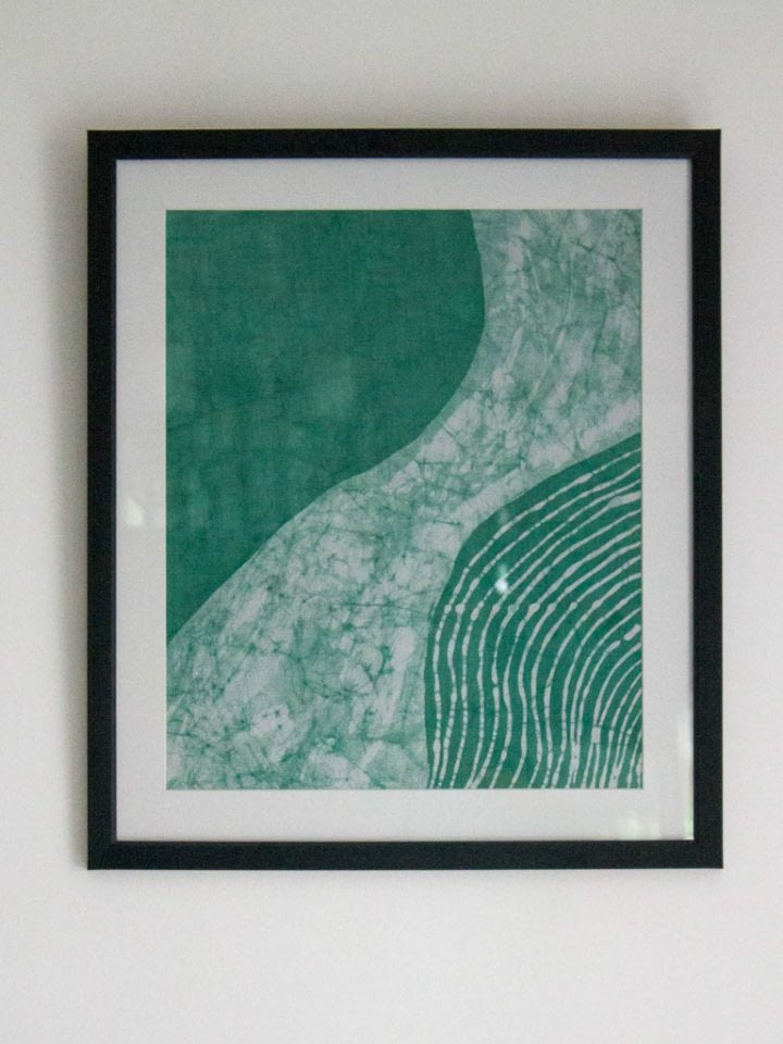 Abstract Composition Wall Tapestry