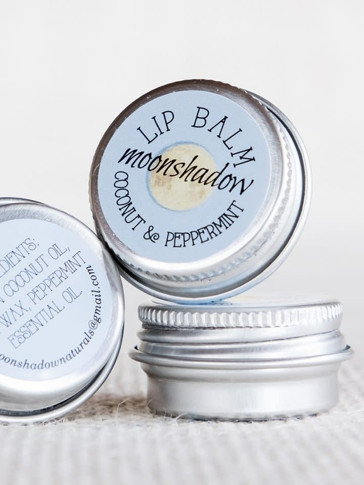 Peppermint and Virgin Coconut Lip Balm