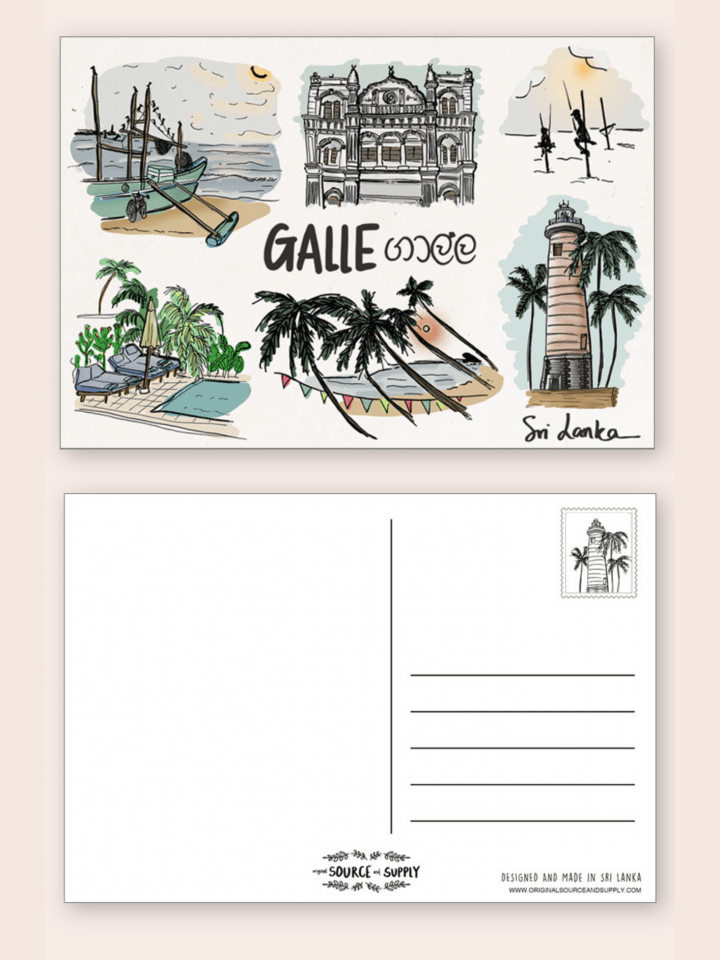 Galle Postcard