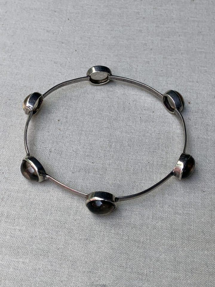 Smokey Quartz Bangle