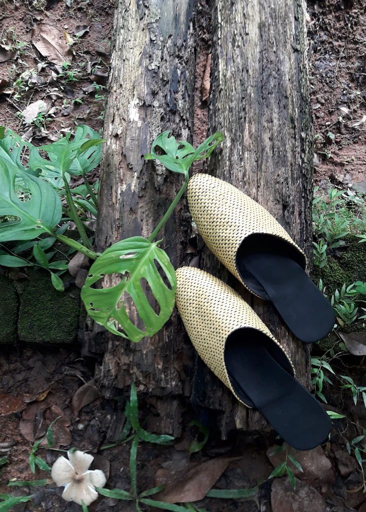 Upcycled Plastic Mules