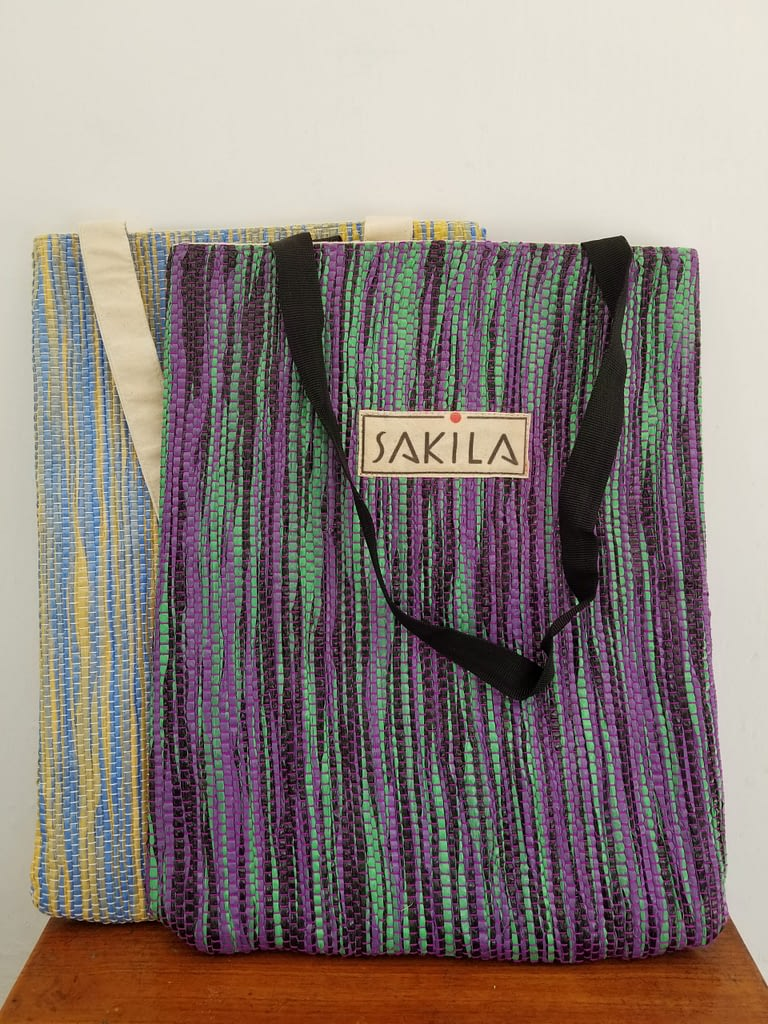 Upcycled Plastic Tote Bag