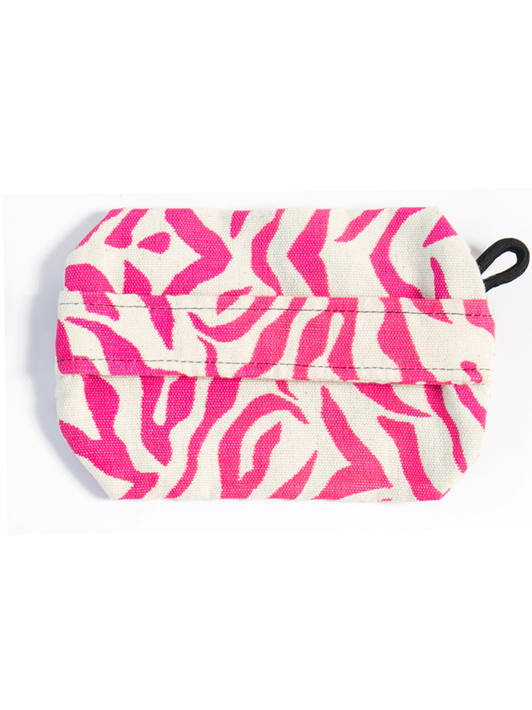 Large Rupee Coin Purse in Hot Pink