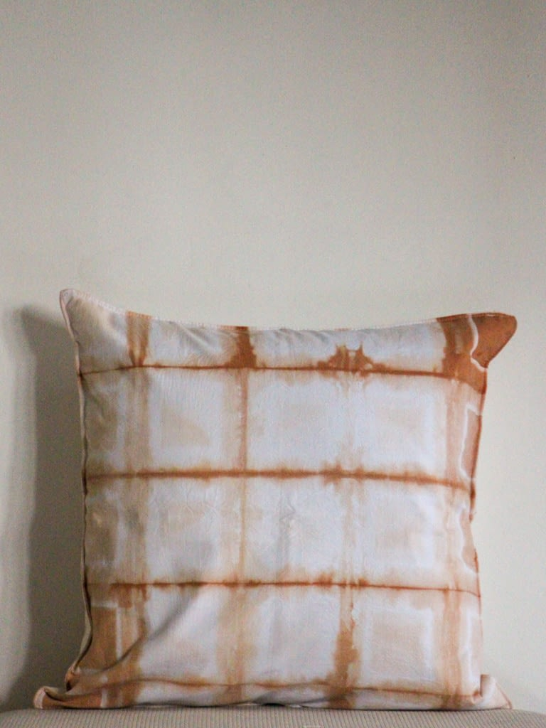 Lined Tie-Dye Cushion Cover