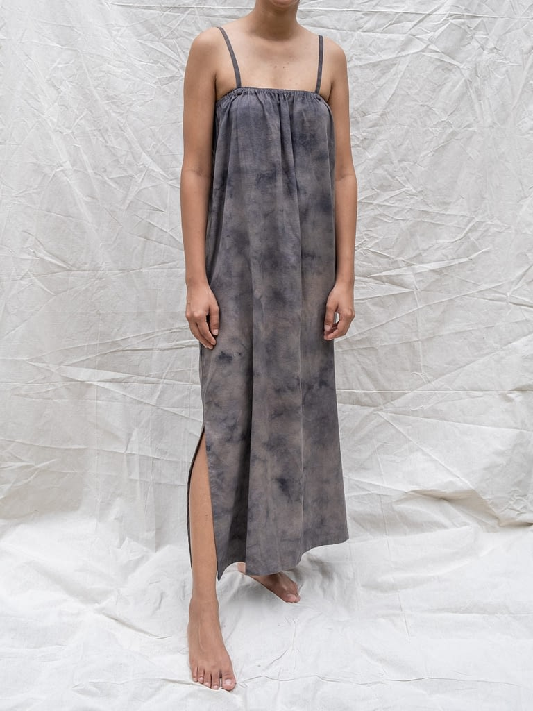 Stain Breezy Dress Charcoal