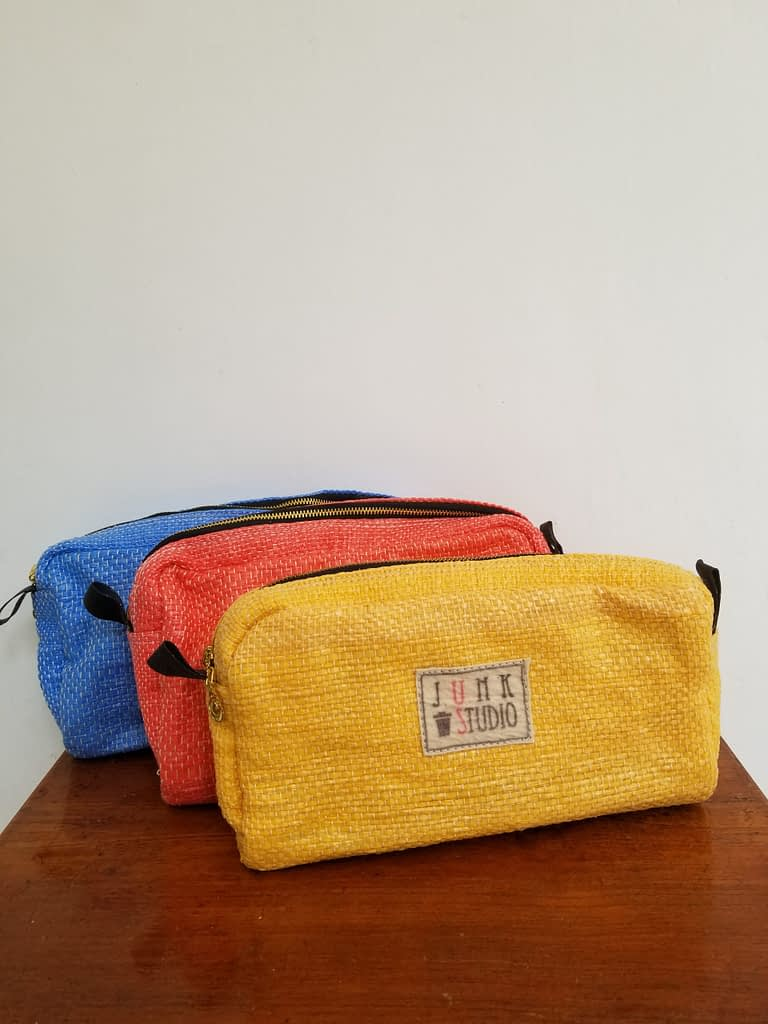Upcycled Plastic Pouch