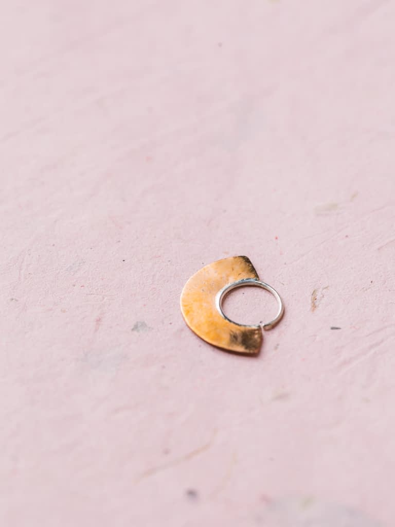 Crescent Moon Nose Ring